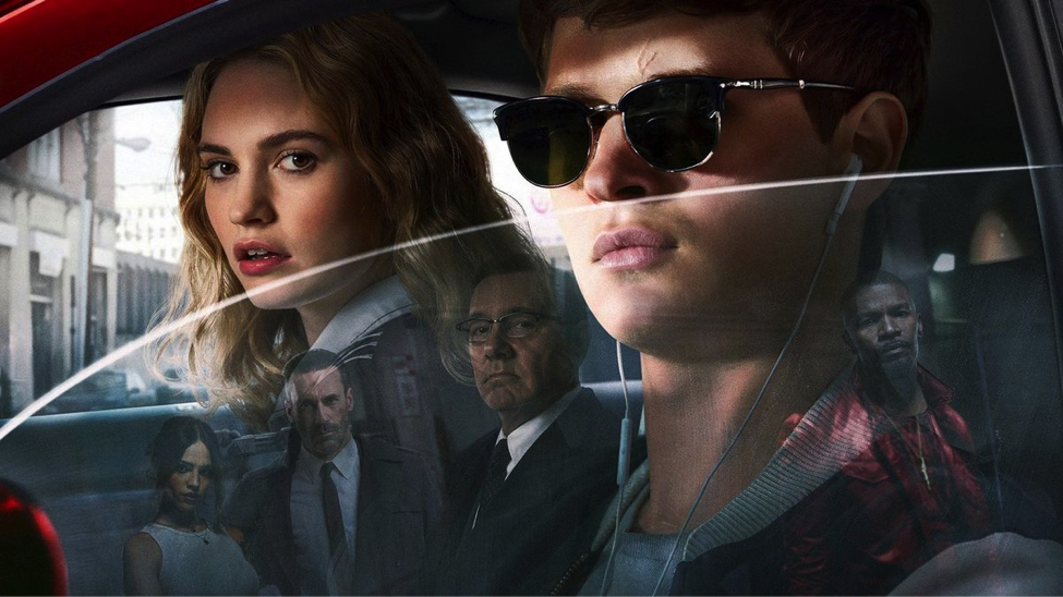 Baby Driver with Ansel Elgort and Lily James